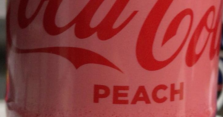 コカ・コーラピーチ(桃)味を買ってみた。けど飲んでない。その理由は…