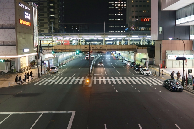 四ツ目通りの夜景