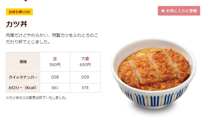 JAPAN-info調べ なか卯人気メニュー